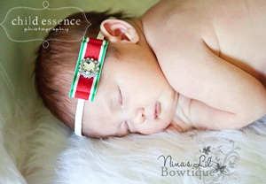 Santa Baby Headband