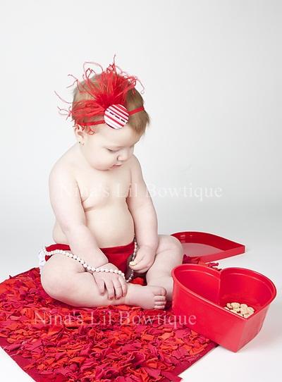 Red Bling Headband