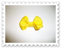 Yellow Itty Bitty Bowtie
