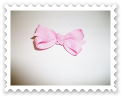 Pink Itty Bitty Bow