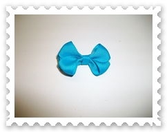 Turquoise Itty Bitty Bowtie