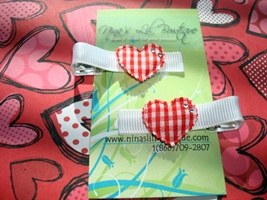Heart Clippie Set D