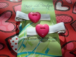 Heart Clippie Set G