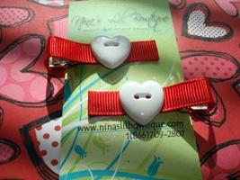 Heart Clippie Set H